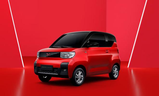 于年内上市 五菱全新纯电动微型车官图发布