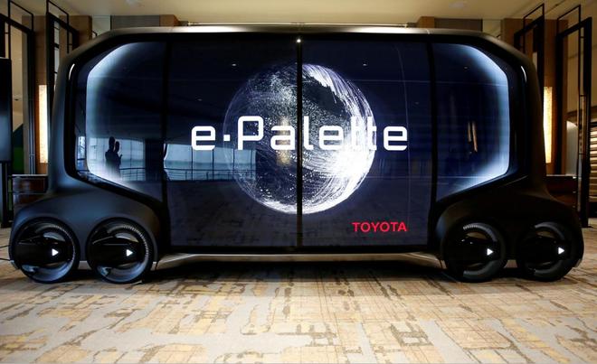 软银与丰田自动驾驶合资企业首次进军海外