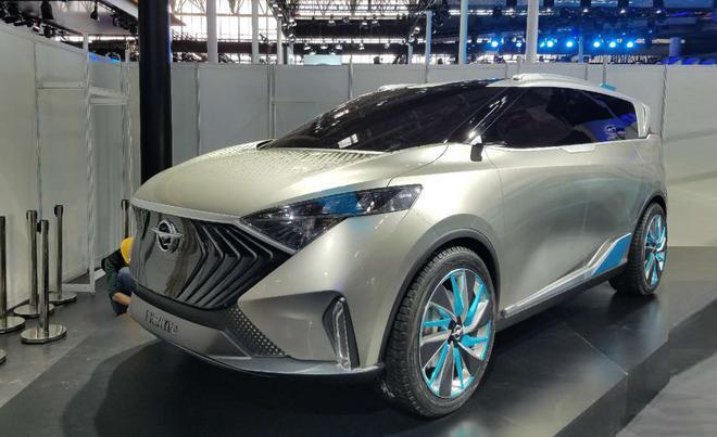 2018北京车展发布的海马VF00概念车