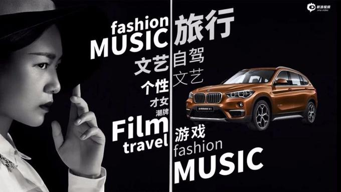 玩转明星短视频IP,BMW X1携周笔畅畅游德国