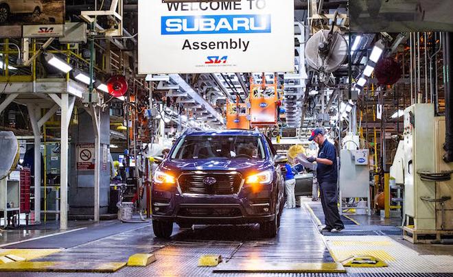 丰田大众斯巴鲁将暂停北美工厂生产
