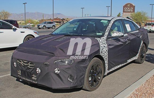 现代全新领动新增一款1.2T车型 明年亮相