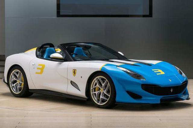 古德伍德速度节发布 法拉利推三款定制车