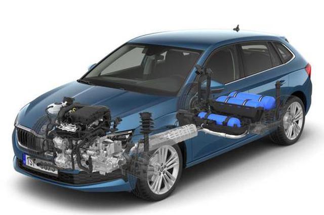 斯柯达SCALA G-TEC曝光 采用天然气燃料