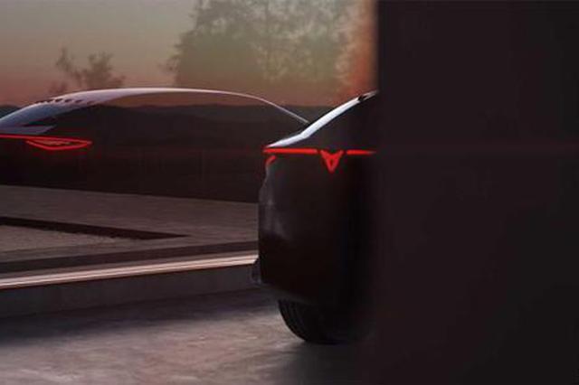 Cupra电动概念车预告图将亮相法兰克福