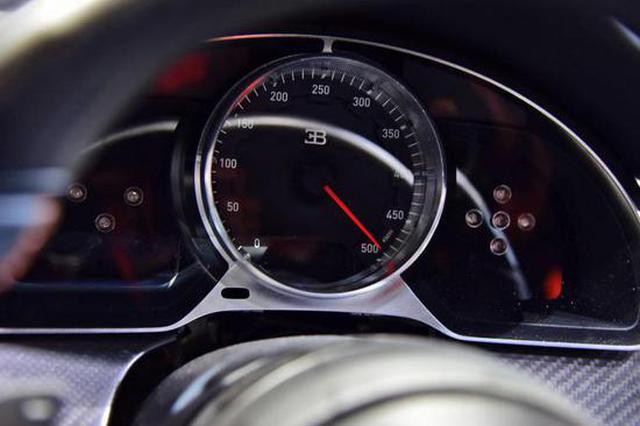 极速490.48km/h 布加迪Chiron新车型亮相