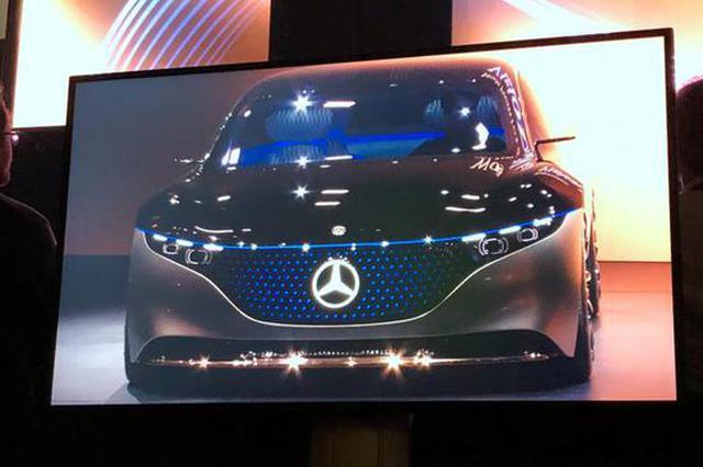 2019法兰克福车展:奔驰VISION EQS概念车