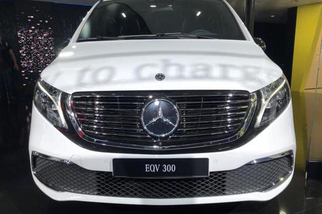 2019法兰克福车展:奔驰EQV量产版首发