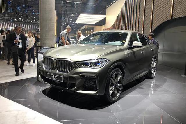 2019法兰克福车展 全新宝马X6正式发布