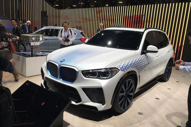法兰克福车展:宝马i Hydrogen NEXT