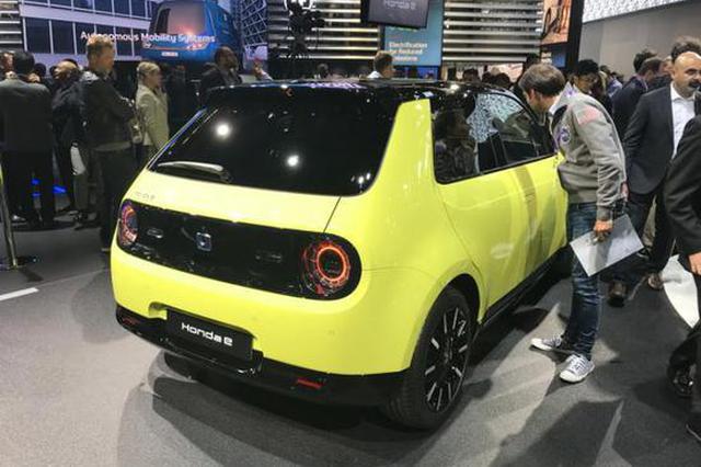 2019法兰克福车展:本田Honda e首发