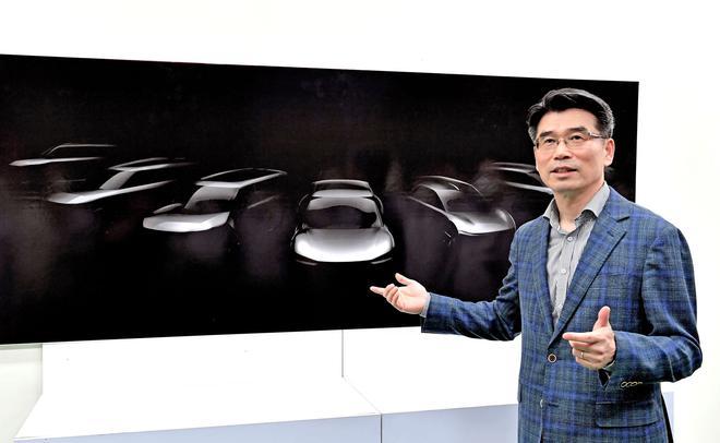 宋虎聲介绍起亚纯电动新车计划