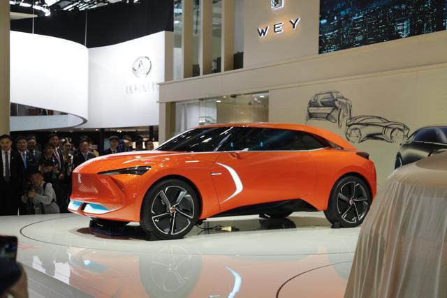 首发|WEY新SUV科技感十足 人脸识别技术