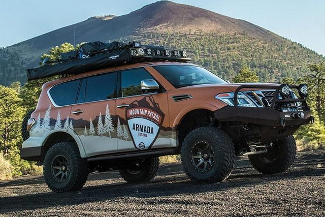 日产发布ARMADA Mountain Patrol概念车官图