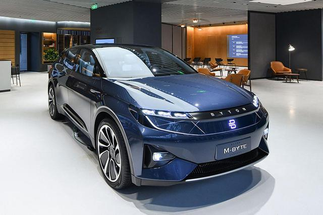 新车|拜腾M-Byte量产车将于四季度投产