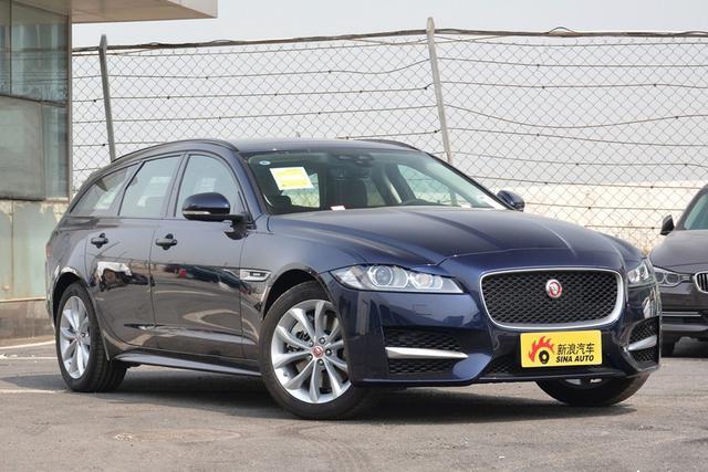 新車|新款捷豹XF旅行版上市售45.58-58.28萬