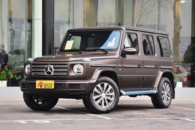 實拍|硬漢越野SUV 奔馳全新G級G500