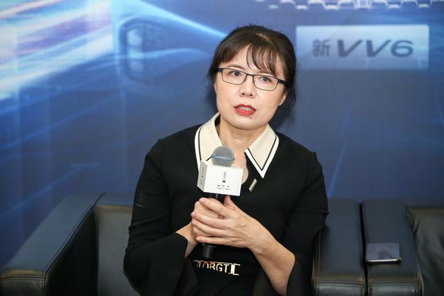 长城汽车股份有限公司副总裁兼WEY品牌营销总经理柳燕