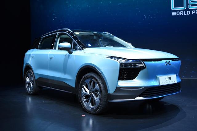 新车 爱驰U5量产版成都车展预售 续航560km