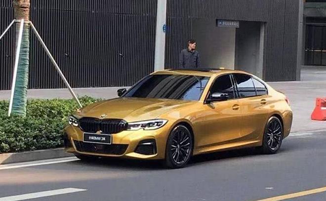 黄色为华晨宝马全新3系标轴版