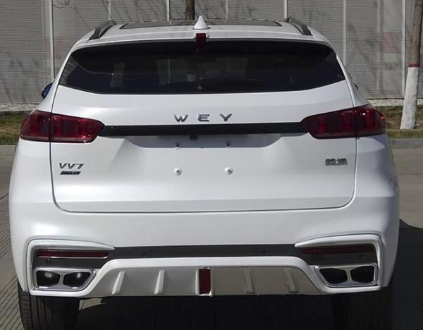法兰克福车展将首秀 WEY VV7家族多款新车消息
