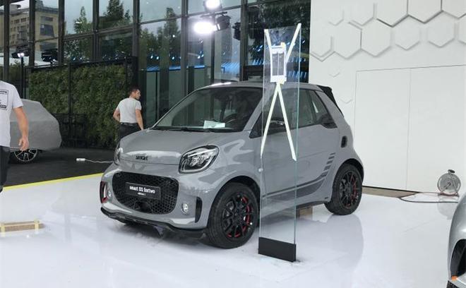 2019法兰克福车展探馆 新款smart EQ实车曝光