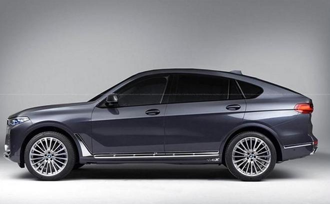 宝马X8 M渲染图曝光 史上最大轿跑SUV?