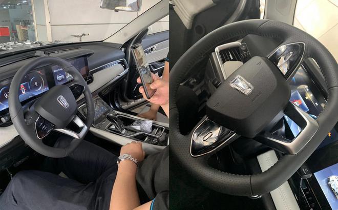 一汽奔腾T99实车谍照曝光 有望10月上市