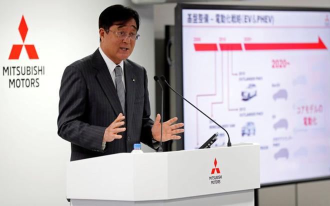 益子修卸任三菱汽车CEO 接替戈恩担任董事长
