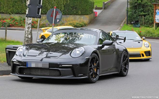 全新992代911 GT3赛车谍照再曝光 发动机输出功率或达550马力