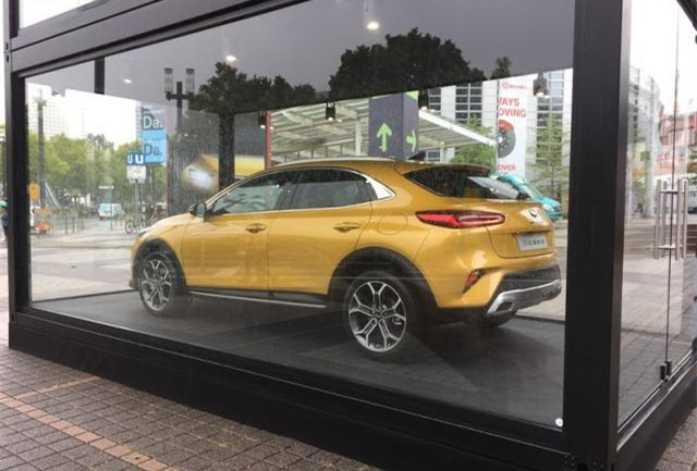 2019法兰克福车展探馆 起亚XCeed实车亮相