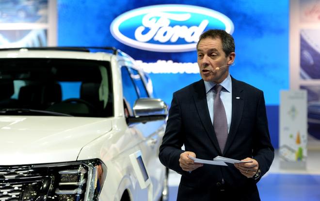 福特欧洲董事长将接替何俊杰担任长安福特总裁