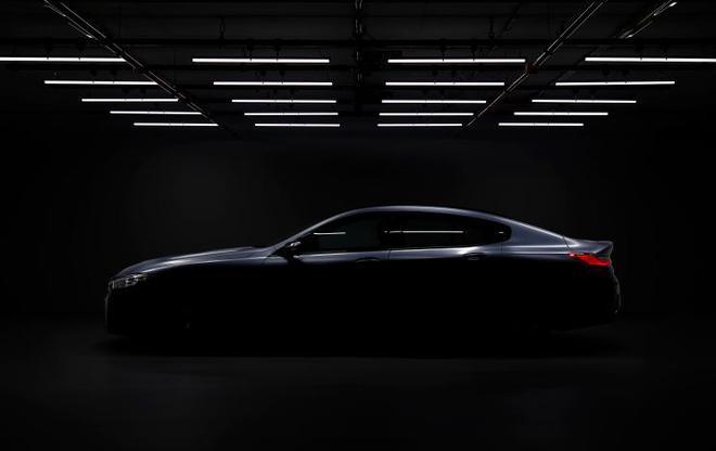 6月亮相 宝马8系Gran Coupe预告图发布