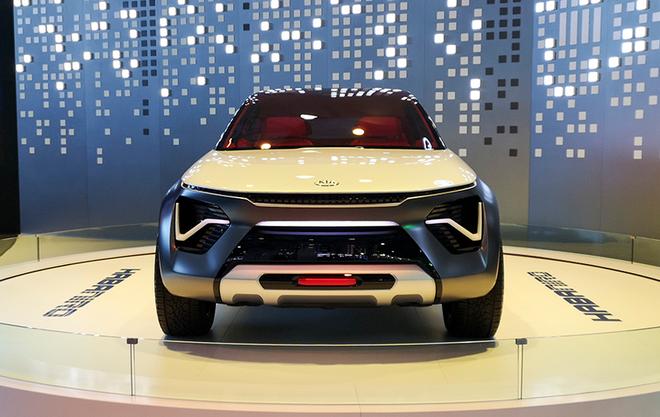 起亚HabaNiro概念车中国首发
