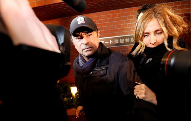 日产前董事长戈恩被抓无释放迹象 其妻寻求特朗普帮助