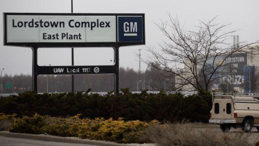 通用暗示会保留三家装配厂中一家 明年与全美汽车工人联合会谈判