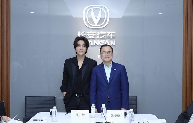 2019成都车展:专访长安汽车总裁朱华荣及演员陈坤
