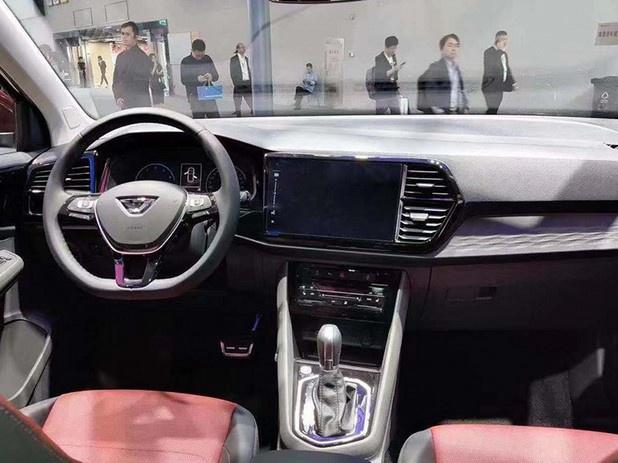 新快3彩乐乐,捷达VS7大SUV标配丰富 明年2月上市11万元起售