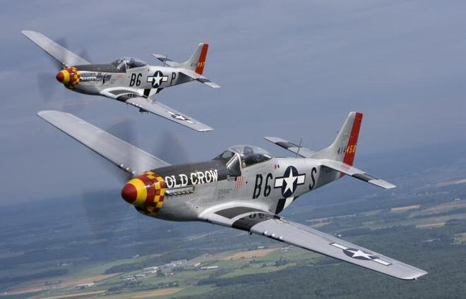 """""""Old Crow""""P-51 Mustang战斗机"""