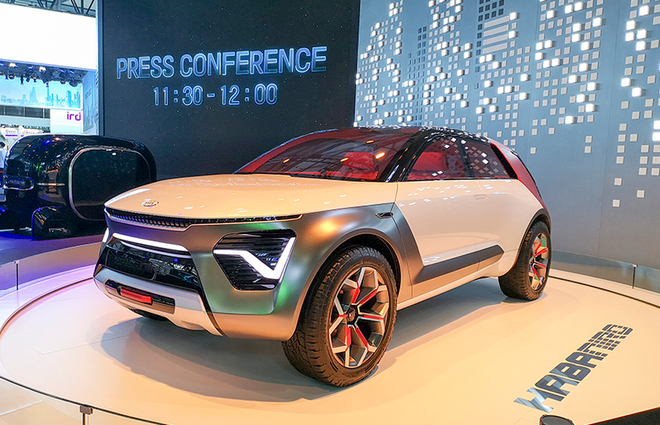 起亚HabaNiro概念车中国首次发布