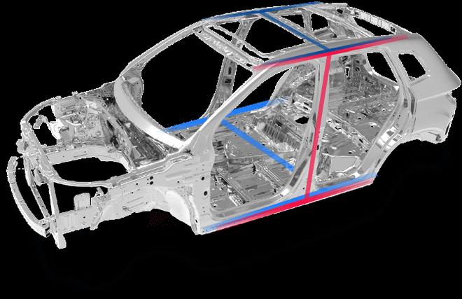 奔腾X40采用了加强型3H结构车身