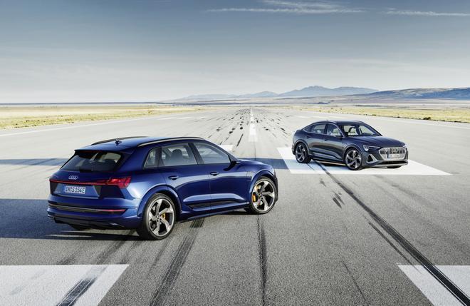 奥迪E-Tron首推S运动版车型 配3台电动机/约73.9万起售