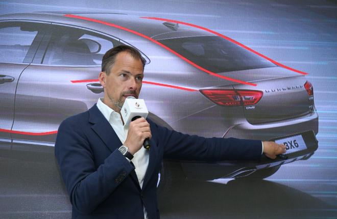 宝沃汽车集团副总裁,首席设计师Anders Warming