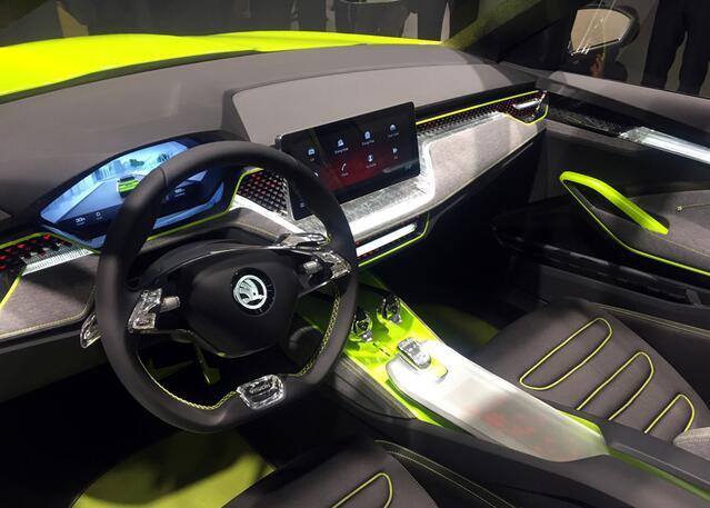 斯柯达Vision X概念车(图片来源网络)