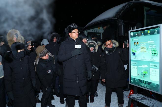 电动车再也不怕冷了!北汽集团新能源汽车极寒技术群测试成功