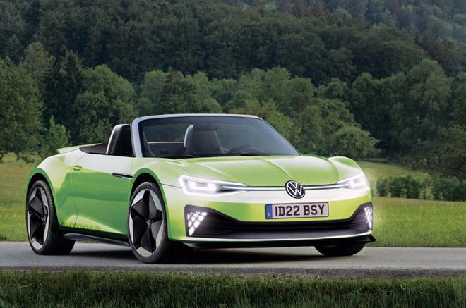 大众2025年或推出基于MEB平台的ID R纯电动车 剑指特斯拉第二代Roadster