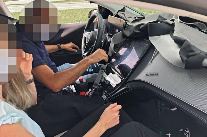 全新奔驰EQS内饰谍照首曝 完美复刻新一代奔驰S级5屏配置