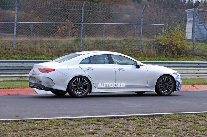 明年年中发布 新款奔驰CLS试跑谍照首次曝光
