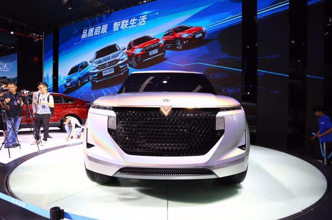 2018深港澳车展:2018款启辰T90亮相