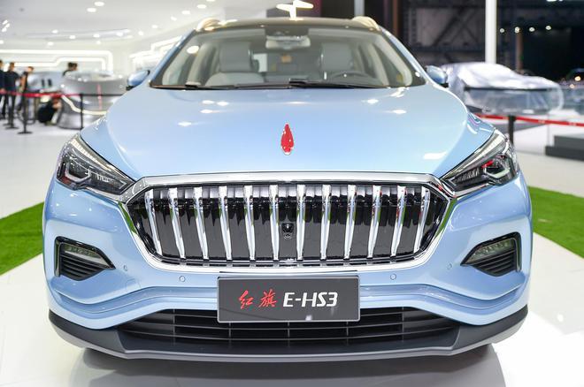 首款纯电动SUV 红旗E-HS3设计图曝光